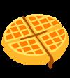 waffles sucrés